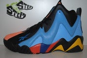 Image of Reebok Kamikaze II Mid &quot;Oklahoma City Thunder&quot;