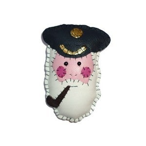Image of Captain Fishcake Brooch