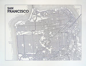 Image of San Francisco (Black)