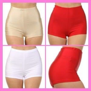 Image of HIGHWAIST SPANDEX SHORTS