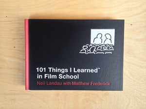 Image of 101 Things I Learned in Film School