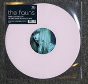 "Image of THE FAUNS remix EP 'Clint Mansell' & 'Redg Weeks' 180g PINK VINYL 12"" (RSD release)"