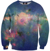 Image of Green nebula sweater