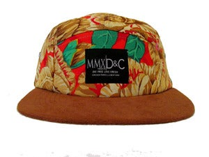Image of 5 PANEL HAT + ROSE GOLD MBDCR|D&C