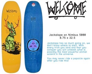 Image of Jackalope 8.75 (Nimbus 5000 Shape NEW)
