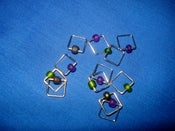 Image of Stitch Markers - Mardi Gras
