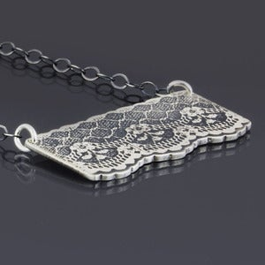 Image of Silver Lace Necklace No. 5