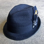 Image of hemp braid fedora