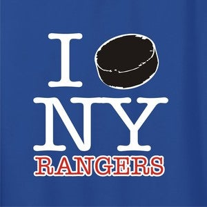 Image of I Puck NY Rangers shirt