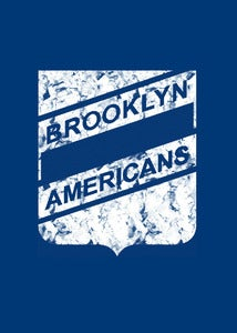 Image of Brooklyn Americans hockey shirt