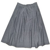 Image of Ink Dobby Chambray Erin Skirt