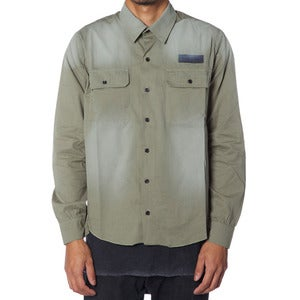 Image of WORK SHIRT | ARMY GREEN