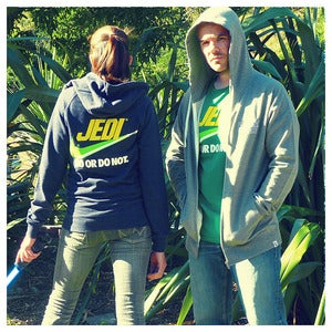 "Image of ""Brand Wars: Jedi"" - Traction Zip unisex hoody"