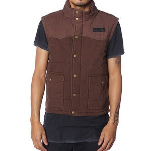 Image of HUNTING VEST | BROWN