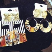 Image of Safari Earrings 