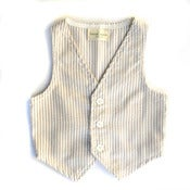 Image of Seersucker Kaki Vest