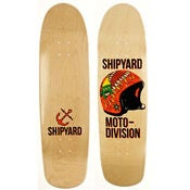 Image of Shipyard Skates &quot;Moto Division&quot; Deck