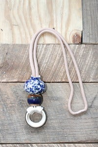 Image of Object & Totem  Doorknocker Necklace Sunset Chrome