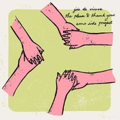 Image of Joie de Vivre / The Please & Thank Yous / Emo Side Project Split 7""