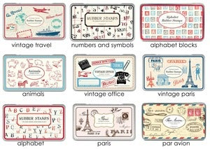 Image of Cavallini Stamp Sets