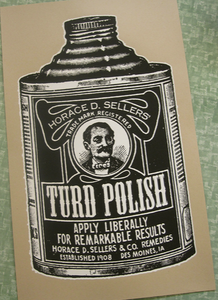 Image of Turd Polish Poster by Saturday Manufacturing