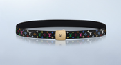 Image of Louis Vuitton Monogram Multicolor Belt SZ 36
