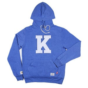 Kloud Felt Hoody Eco Blue