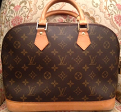 Image of Louis Vuitton Monogram Alma Bag