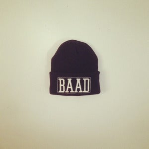 Image of BAAD beanie (Navy Blue) X Chloe Riley Collab.