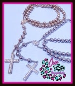 Image of JumBo Over The Top Rosary Necklace(UNISEX)