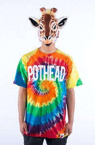 Image of Pothead Tee - Tie Dye