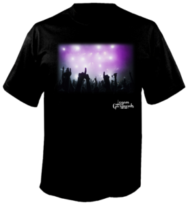 Image of LG Party T-Shirt Black/Purple