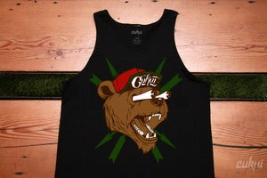 Image of Bear Fink Tank - Black