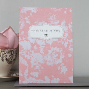 Image of Bijou Blossom - Thinking of You Card