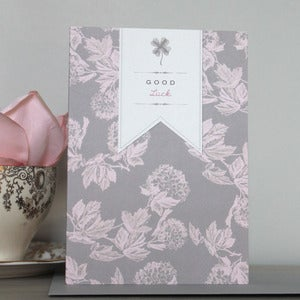 Image of Bijou Blossom - Good Luck Card