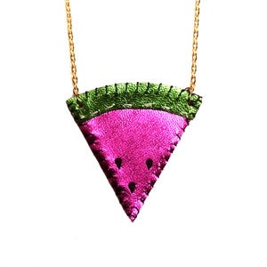Image of Juicy Watermelon Necklace