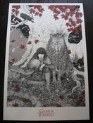 Image of 'BRAN STARK' Limited Edition Screen Print. SOLD OUT