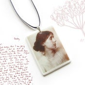 Image of Virginia Woolf Pendant