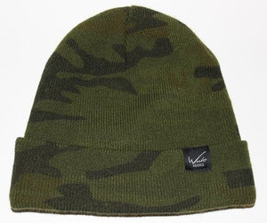 Image of Easy Script Beanie in Camo