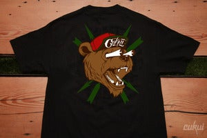 Image of Bear Fink - Black Tshirt