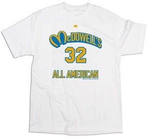 Image of McDowells All-American Tee | white