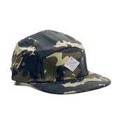 Image of REASON DRY GOODS 5 PANEL CAMO CAP