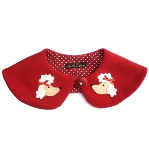 Image of Parisian Poodle Peter Pan Collar