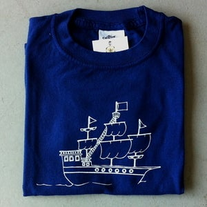 Image of Pirate Ship Children's Tee