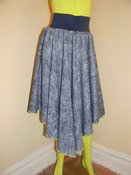 Image of Looks like denim circle skirt