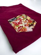 Image of Oriental Floral Pocket Tee