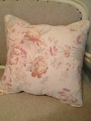 "Image of Vintage Shabby Roses and Leopard 20"" pillow covers"