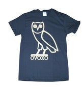 Image of OVOXO Owl Black Graphic Screen Printed T Shirt