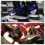 "Image of ""Your favorite team"" on Lebron 9 elite or Lebron 10"