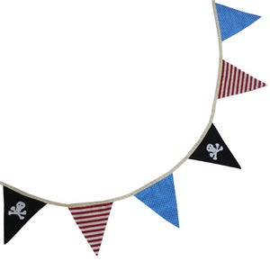 Image of Pirate Bunting by Powell Craft 